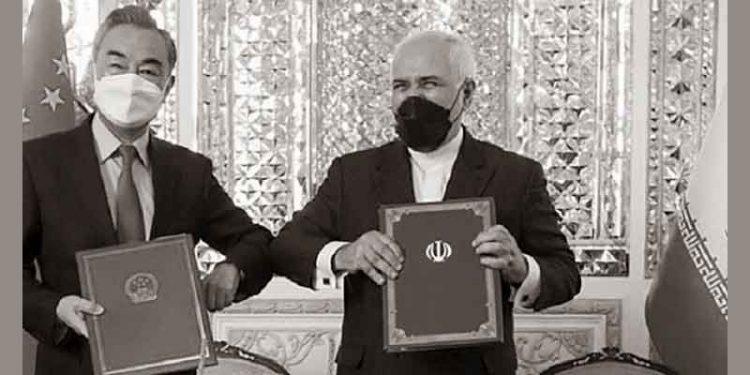 توافق ننگین و وطن فروشانه ۲۵ساله رژیم آخوندی با چین