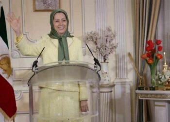 مراسم نوروز و تحویل سال نو ۱۴۰۰ با سخنرانی خانم مریم رجوی