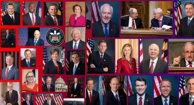 نامه دوحزبی ۴۳سناتور دموکرات و جمهوریخواه به جو بایدن