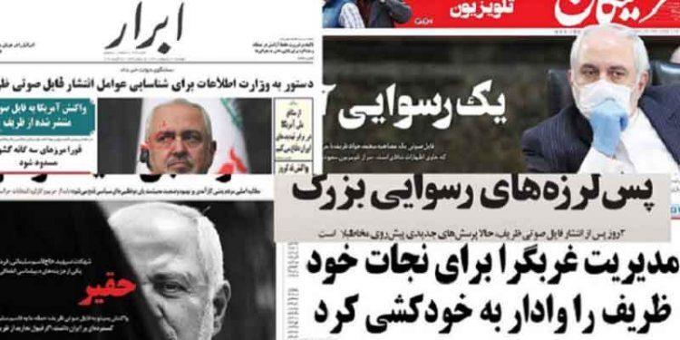انتشار مصاحبه جواد ظریف و بالا گرفتن جنگ گرگها در آستانه انتخابات