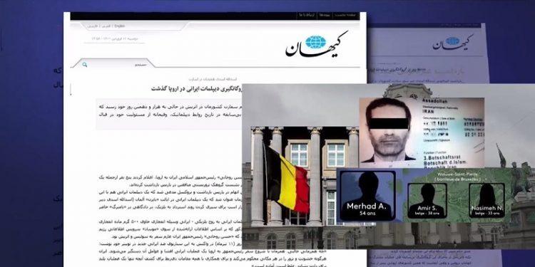 ابرازسوزش خامنه ای ازنخستین تله افتادن و محکومیت دیپلمات تروریستش در بلژیک