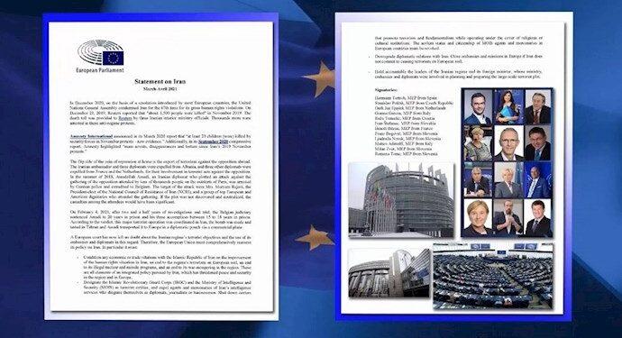 بیانیه ۱۲نماینده پارلمان اروپا؛ اتحادیه اروپا باید سیاست ایران خود را بهصورت همهجانبه بازبینی کند
