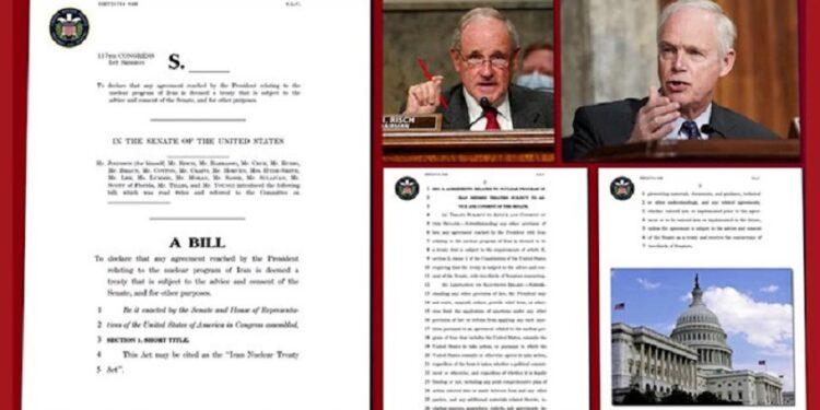 لایحه ۲۳ سناتور برجسته آمریکا