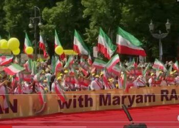 رویترز پخش مستقیم گردهمایی ایران آزاد