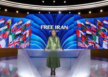 سخنرانی مریم رجوی در اجلاس جهانی ایران آزاد – روز نخست