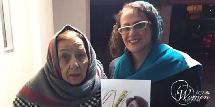 وضعیت وخیم راحله احمدی در زندان اوین به دنبال فوت مادر سالخورده اش